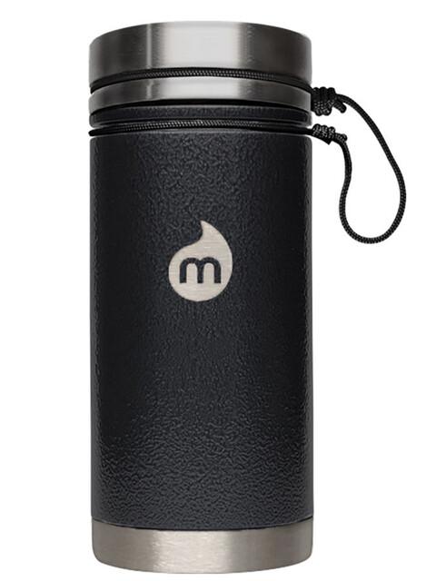 MIZU V5 Insulated Bottle 500ml Black Hammer Paint